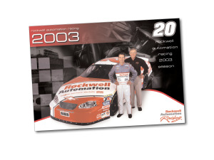 Rockwell Automation Racing Bio Card