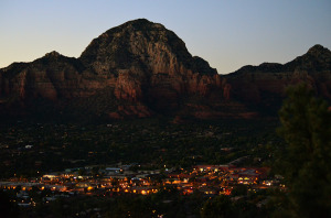 sedona night